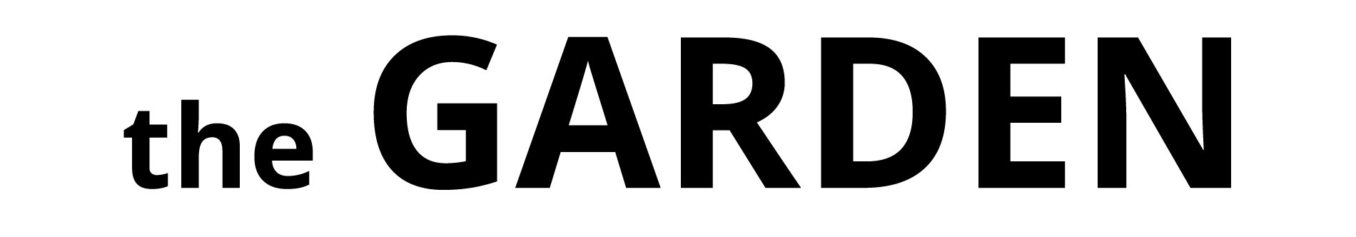 the GARDEN Logo
